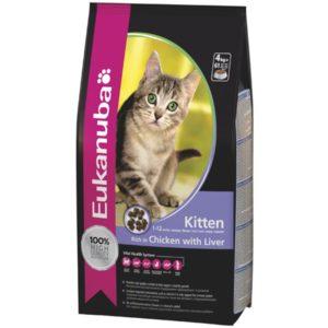 корм эукануба для котят