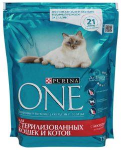 пурина ван для стерилизованных кошек и котов