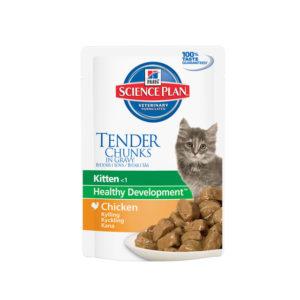 влажный корм хиллс для котят