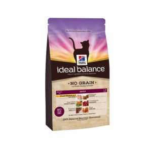 hills ideal balance no grain cat food with chicken