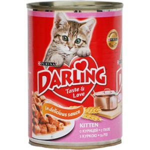 консервы для котят дарлинг