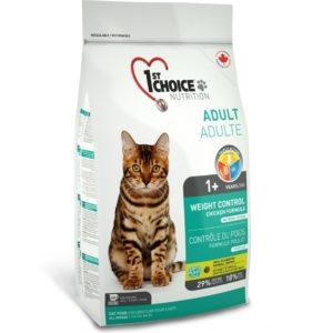 корм для кошек 1st сhoice контроль веса