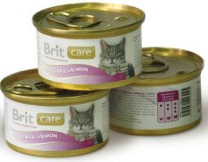 корм для кошек брит кеа консервы