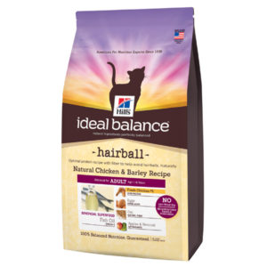 science diet ideal balance hairball chicken cat