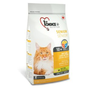 корм для кошек 1st сhoice здоровая кожа и шерсть