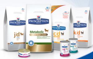линейка prescription diet для кошек