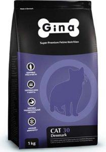 сухой корм для кошек gina