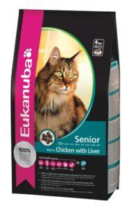 корм эукануба для пожилых кошек