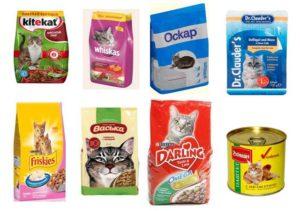 корм для кошек эконом класса
