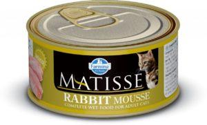 консервы для кошек фармина с кроликом