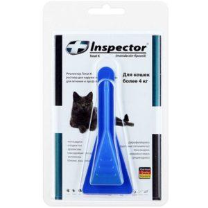капли для кошек инспектор