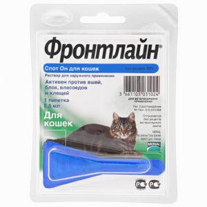 капли для кошек фронтлайн