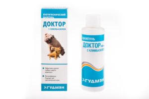 шампунь для кошек от грибка доктор