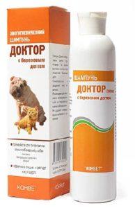 шампунь для кошек с чувствительной кожей доктор