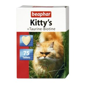 tabletki beaphar kittys taurin and biotin