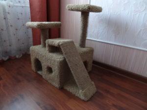 игровой домик для кошки своими руками