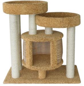 дом когтеточка пушок для кошки