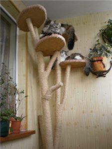 когтеточка своими руками из дерева