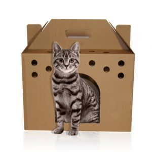 домик из картона