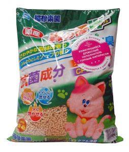 японский наполнитель для кошек