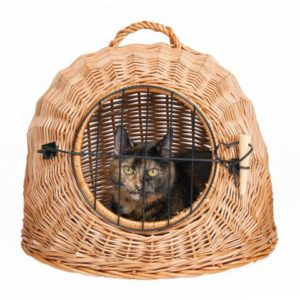 корзина переноска для кошек