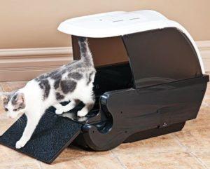 лоток домик для кошки