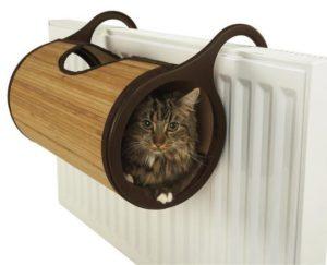 лежак на батарею для кошки