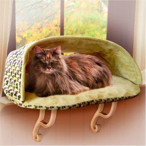 лежанка для кошки на подоконник