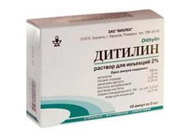 дитилин раствор